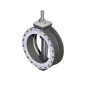 score tricentric butterfly valve