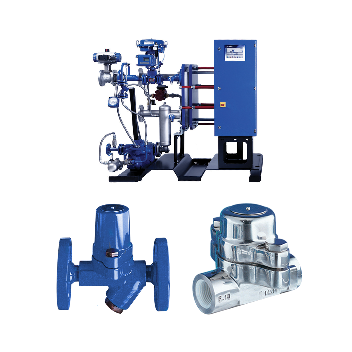 spirax sarco steam traps and skid package