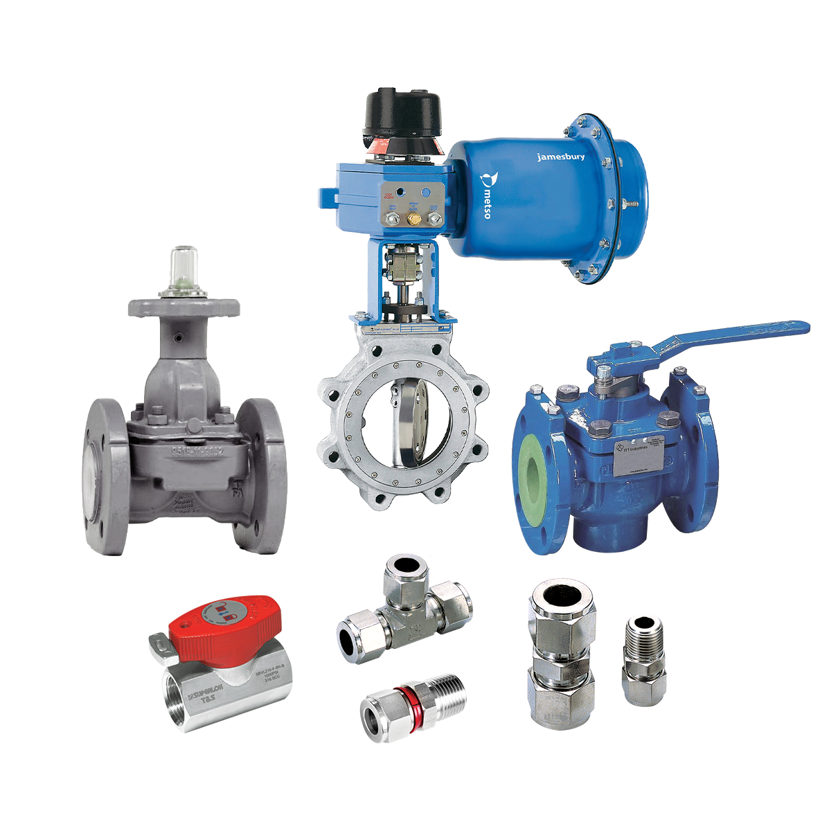 industrial and instrumentation valves and fittings